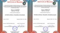 Barisic and Andjelic successfully completed IWE/IWT- seminar