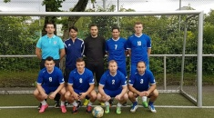 """The IMR Hamburg hall- soccer team competed for the fourth time on extremely high- leveled  hall- soccer tournament of """" Summer Cup"""" in Munich."""