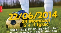 SUMMER CUP 2014. Croatia Munich, announcement of the registered players