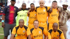 MURRAY&ROBERTS WINNER OF THE HALL-SOCCER TORNAMENT, IMR HAMBURG ON THE THIRD PLACE