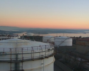 Tanks for fuel in INA – Rijeka Refinery