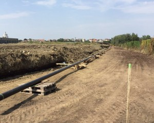 Pre-assembly of gas pipeline DN150 in Bjelovar 1