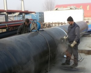 Workshop Slavonski Brod – Pre-assembly of water pipeline Ø1500 for Zagreb city grid 1